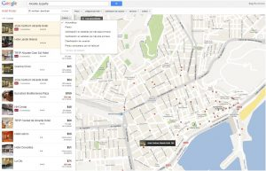 Google Hotel Finder Alicante