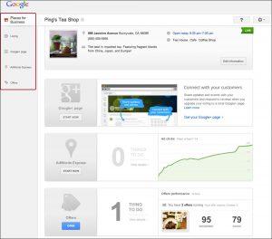 Google Places: nuevo panel de control