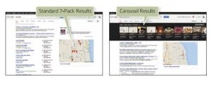 Google Local y Google Carousel