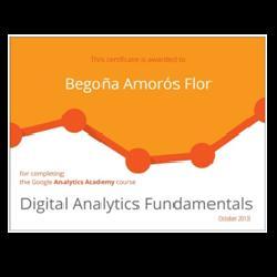 Digital Analytics Fundamentals Begoña