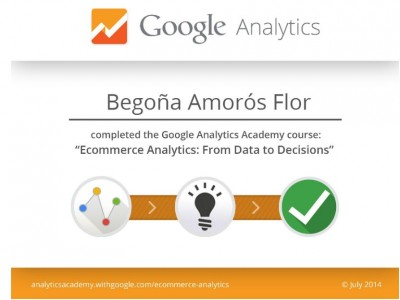 Ecommerce Analytics Certification por Google