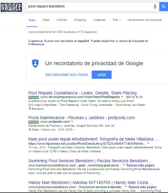 campaña de google adwords
