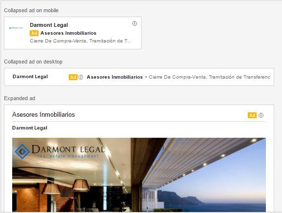 Anuncios de Gmail