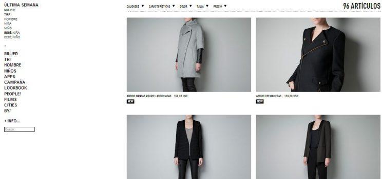 Catálogo Invierno 2012 zara.com