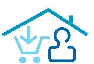 La comodidad de la compra online desde casa