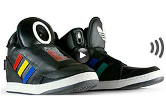 Talking shoes de Google, sus zapatos inteligentes