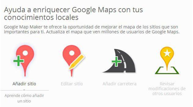 Ayuda a enriquecer Google Maps