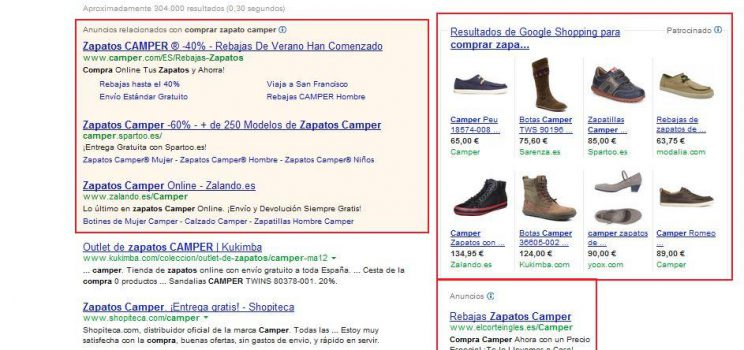 Google Shopping de Google Adwords