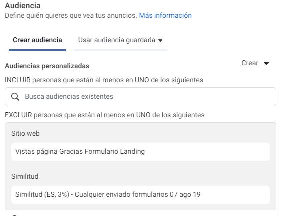 práctica para optimizar campañas de leads de facebook ads